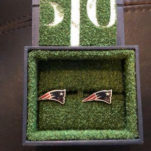 New England Patriots Cuff Links.